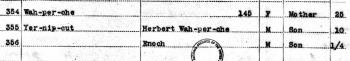 U.S.IndianCensusRolls1885-1940ForHerbertWah-Per-Che1902